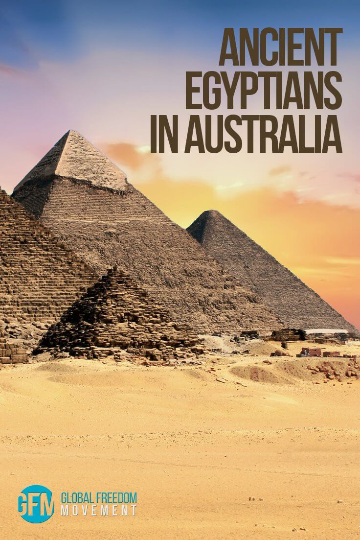 Ancient Egyptians In Australia