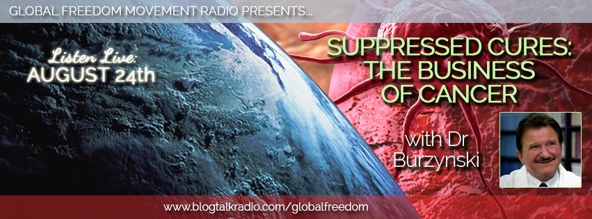 global freedom movement radio episode 13 dr burzynski cancer cure