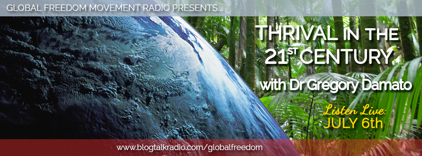 global freedom movement radio episode 8 gregory damato