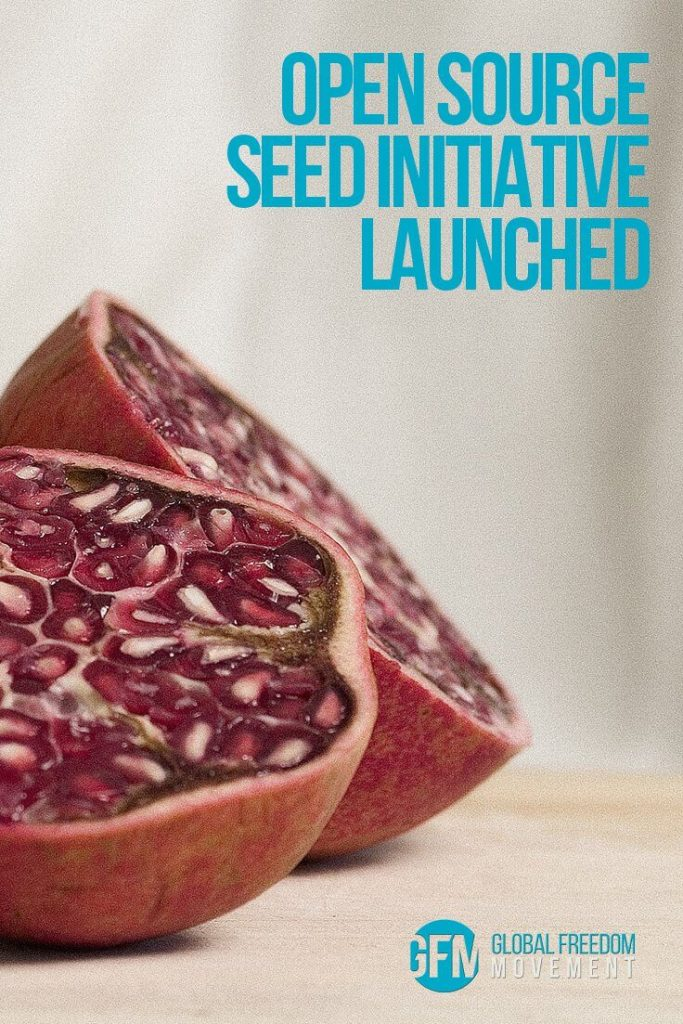 Open Source Seed Initiative Launched | Global Freedom Movement
