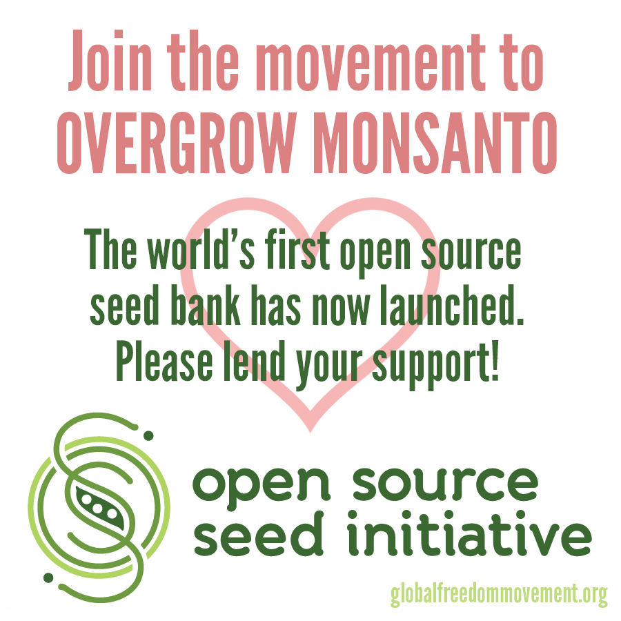 open source seed initiative global freedom movement