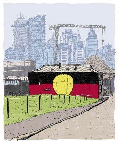 redfern aboriginal tent embassy global freedom movement gerry georgatos