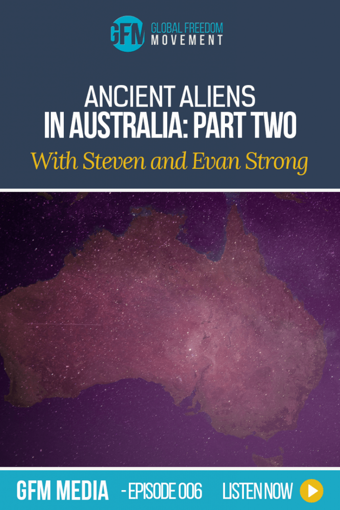 Steven And Evan Strong: Ancient Aliens In Australia Part Two | Australian Engraved Rock Reveals Ancient Technology by Steven and Evan Strong | Global Freedom Movement