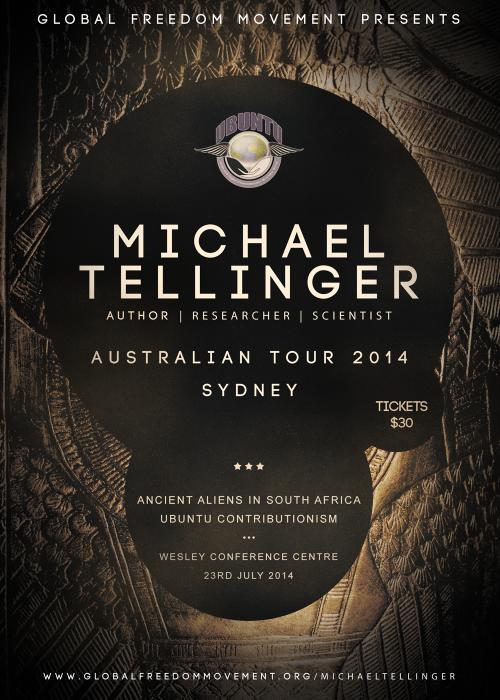 michael tellinger australian tour