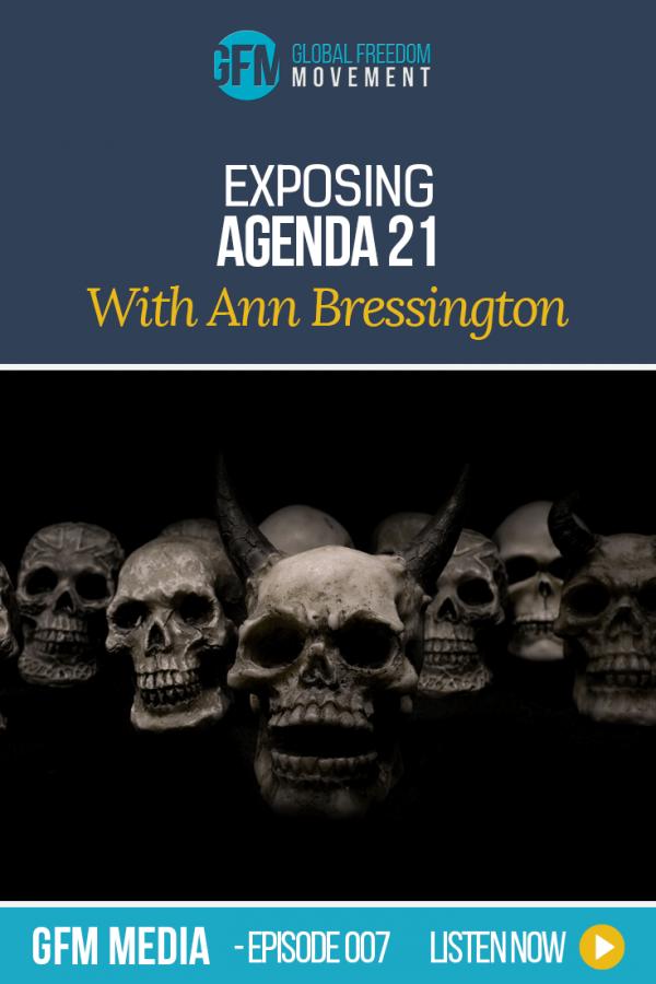 Exposing Agenda 21 with Ann Bressington (Episode 7 GFM Radio) | Global Freedom Movement