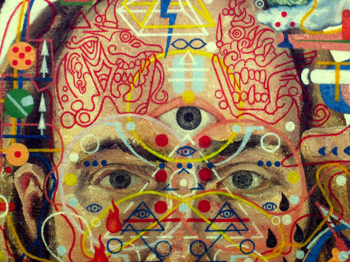 The Strange Story Of An Artist With Pineal Gland Cancer Shawn Thornton