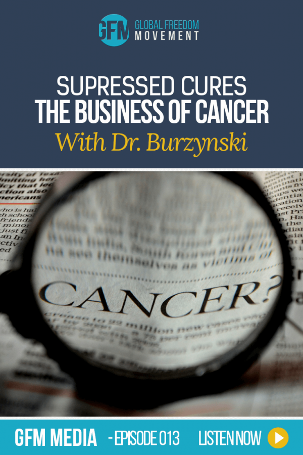 Suppressed Cures: The Business of Cancer with Dr Burzynski (Episode 13, GFM Radio)