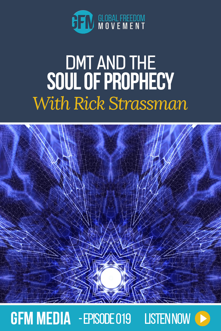 DMT And The Soul Of Prophecy With Rick Strassman MD (Episode 19, GFM Radio)