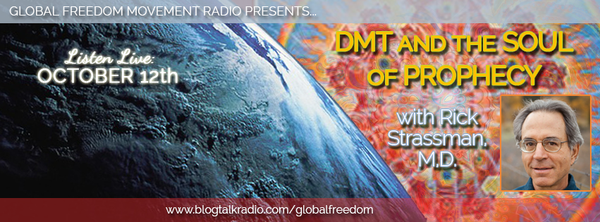 global freedom movement radio live rick strassman DMT
