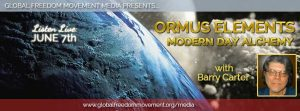 ormus elements barry carter global freedom movement