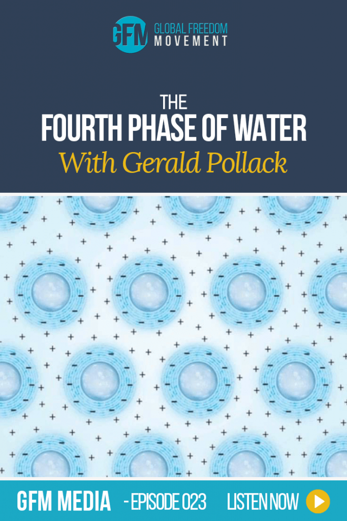 The Fourth Phase Of Water With Gerald Pollack | Global Freedom Movement
