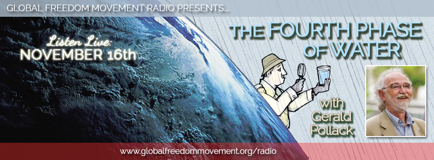 gerard pollack global freedom movement media fourth phase water