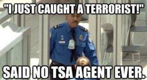 TSA agent terror