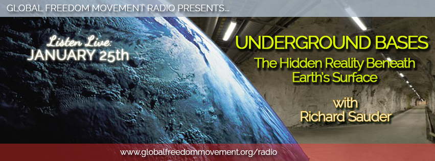 richard sauder underground bases global freedom movement