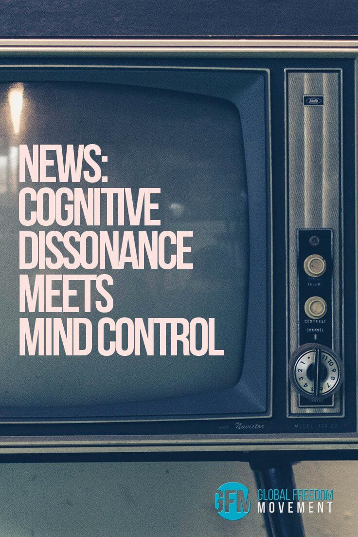 The News: Cognitive Dissonance Meets Mind Control