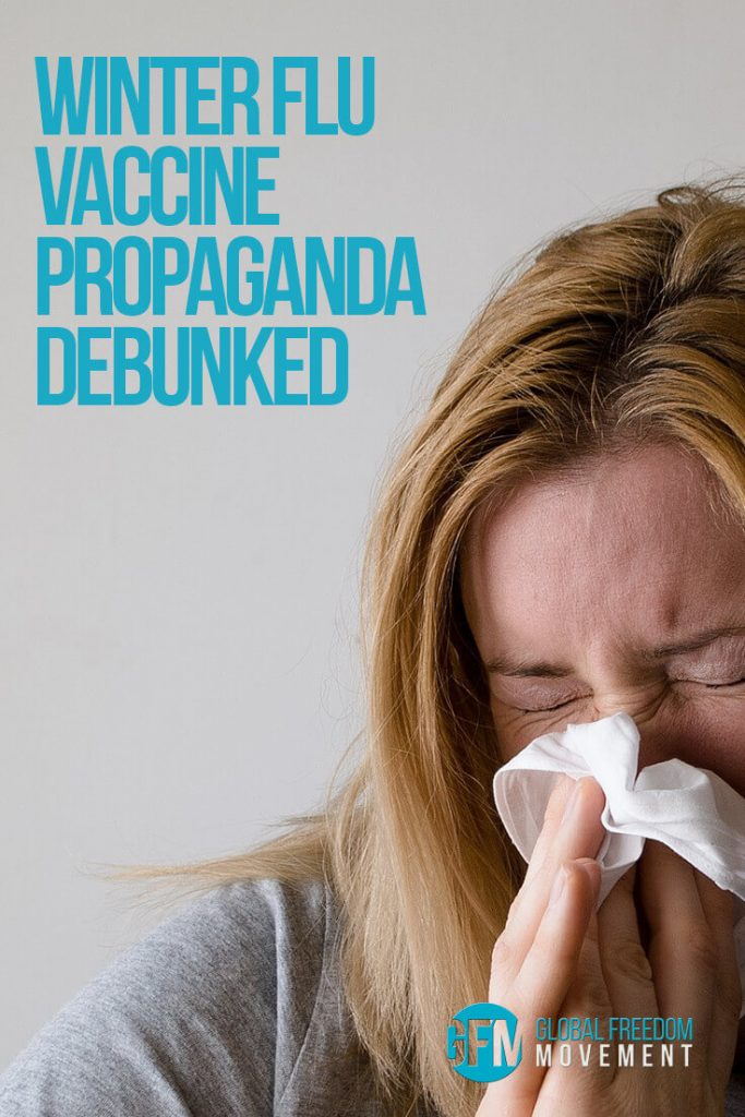 Winter Flu Vaccine Propaganda Debunked | Global Freedom Movement