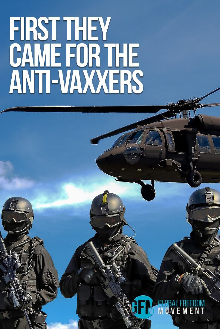 First They Came for the Anti-Vaxxers