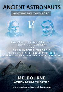 Ancient-Astronauts-Melbourne Erich von daniken australia global freedom movement ancient aliens