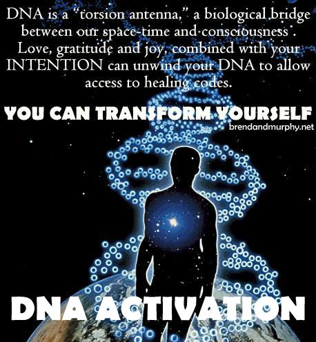 inspirational dna activation