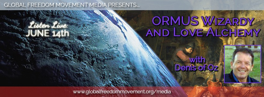 global freedom movement media denis of oz ormus