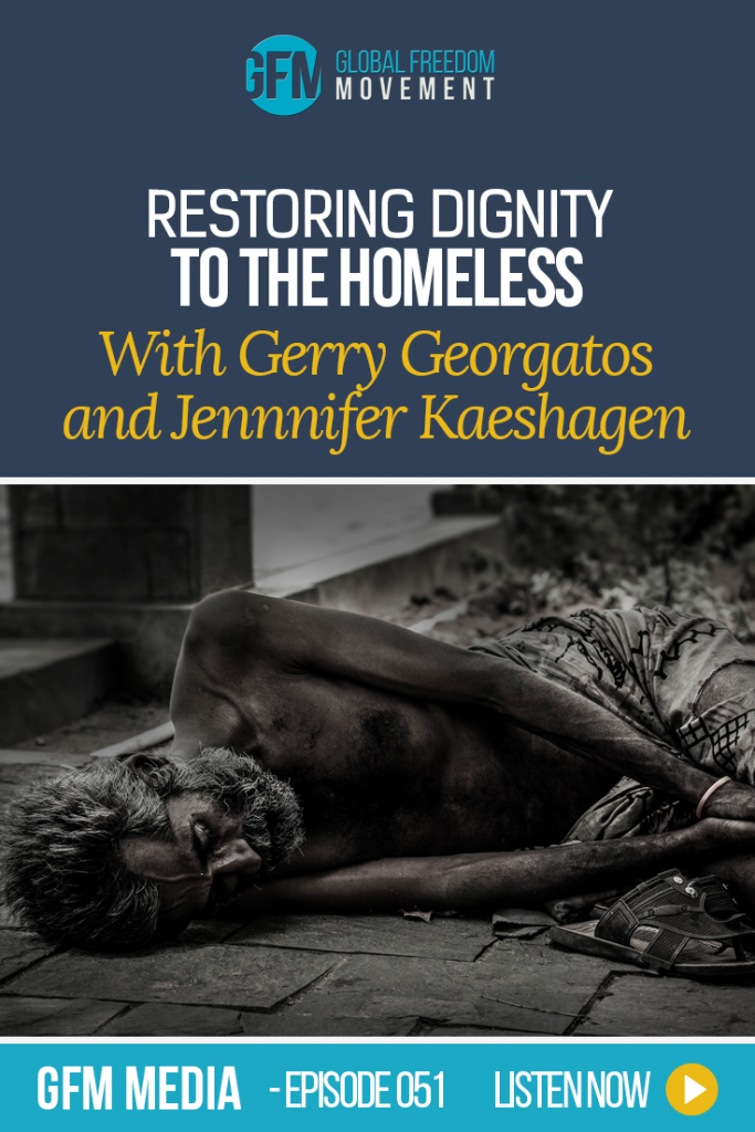 An interview with Gerry Georgatos and Jennifer Kaeshagen. How can we restore dignity to the homeless? | Global Freedom Movement