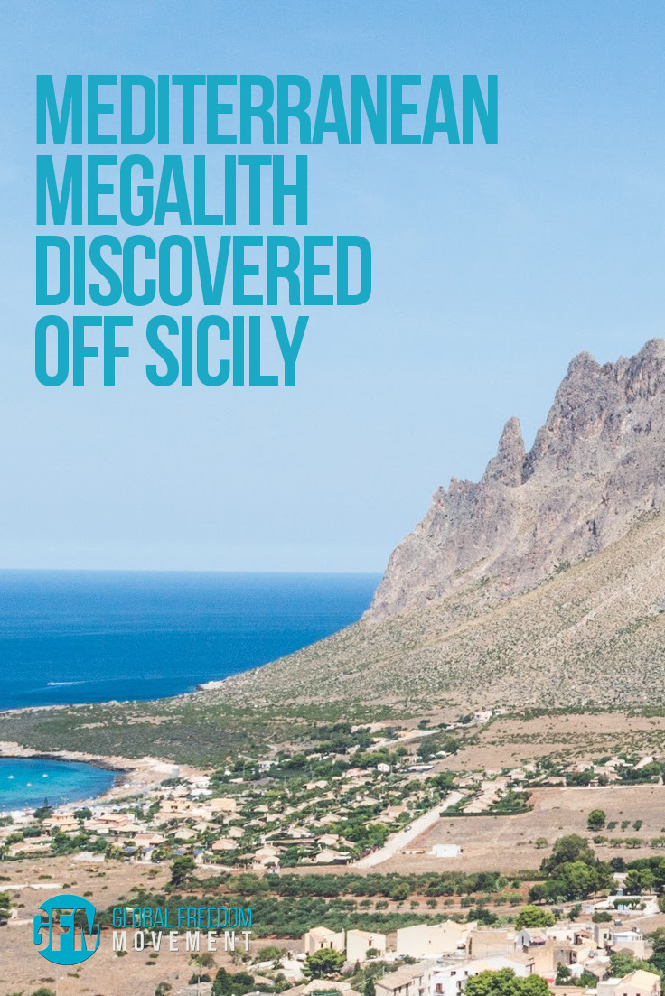 Mediterranean Megalith Discovered Off Sicily   Global Freedom Movement