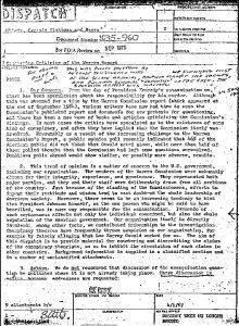 CIA conspiracy theory