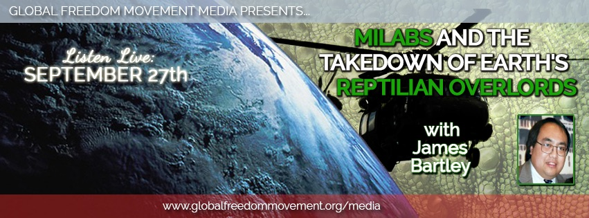 MILABS And The Takedown Of Earth's Reptilian Overlords With James Bartley