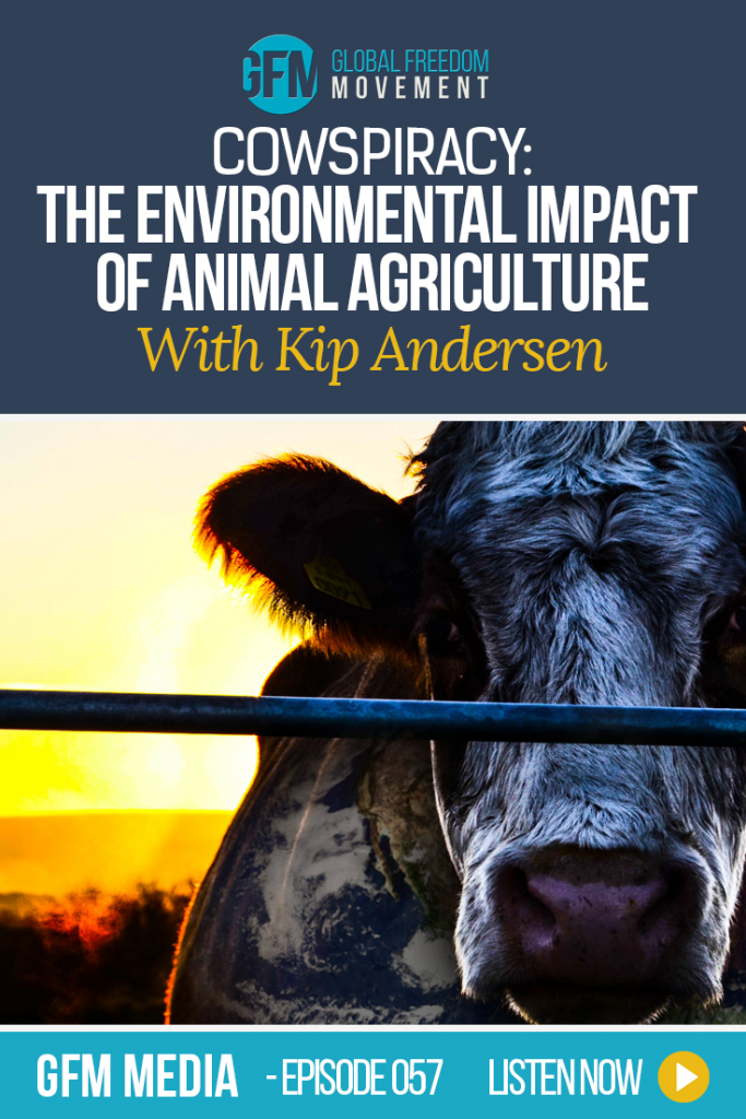 An interview with Cowpiracy filmmaker Kip Andersen | Global Freedom Movement