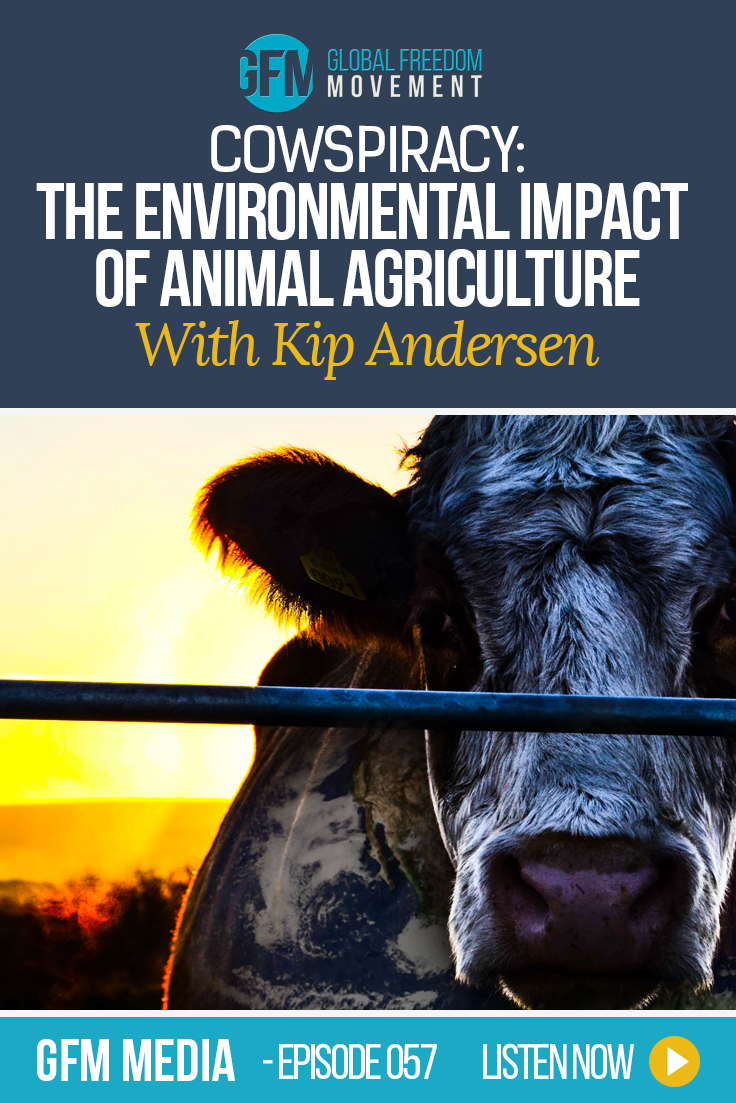 An interview with Cowspiracy filmmaker Kip Andersen | Global Freedom Movement