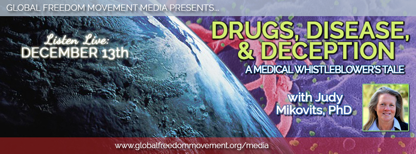 judy mikovits interview global freedom movement