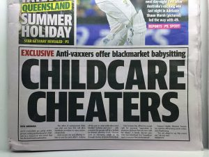black market childcare antivaxxers