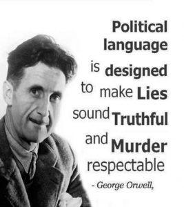 orwell - politics