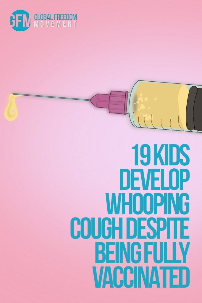 19 kids develop whooping cough despite being fully vaccinated