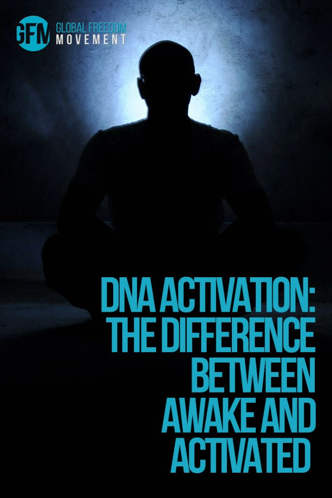 dna template activation difference between awake and activated