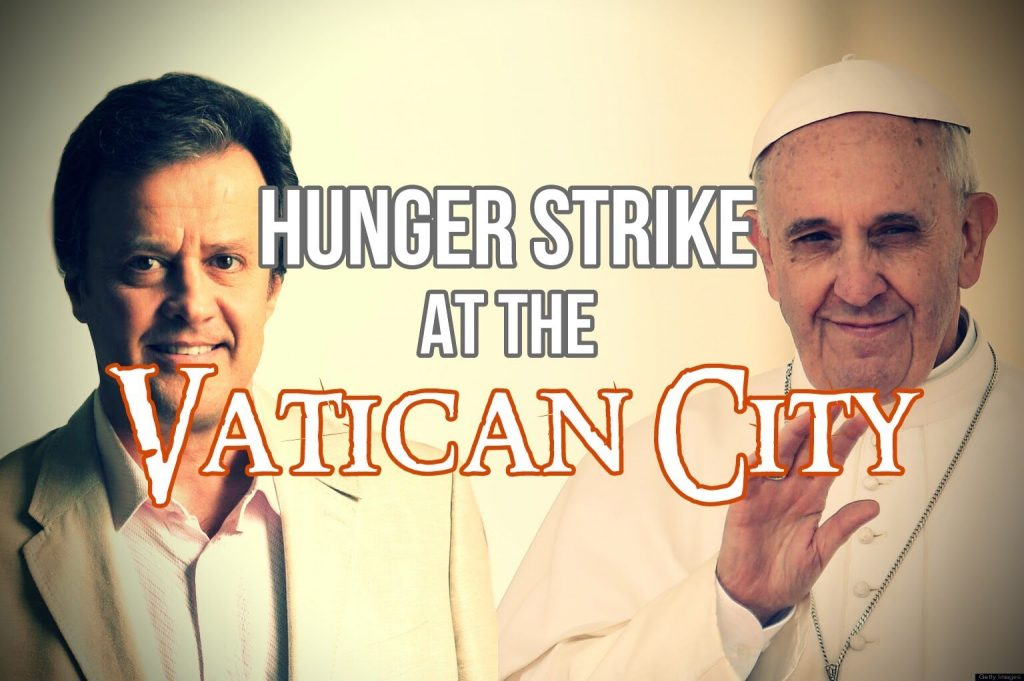 kevin galalae interview hunger strike vatican