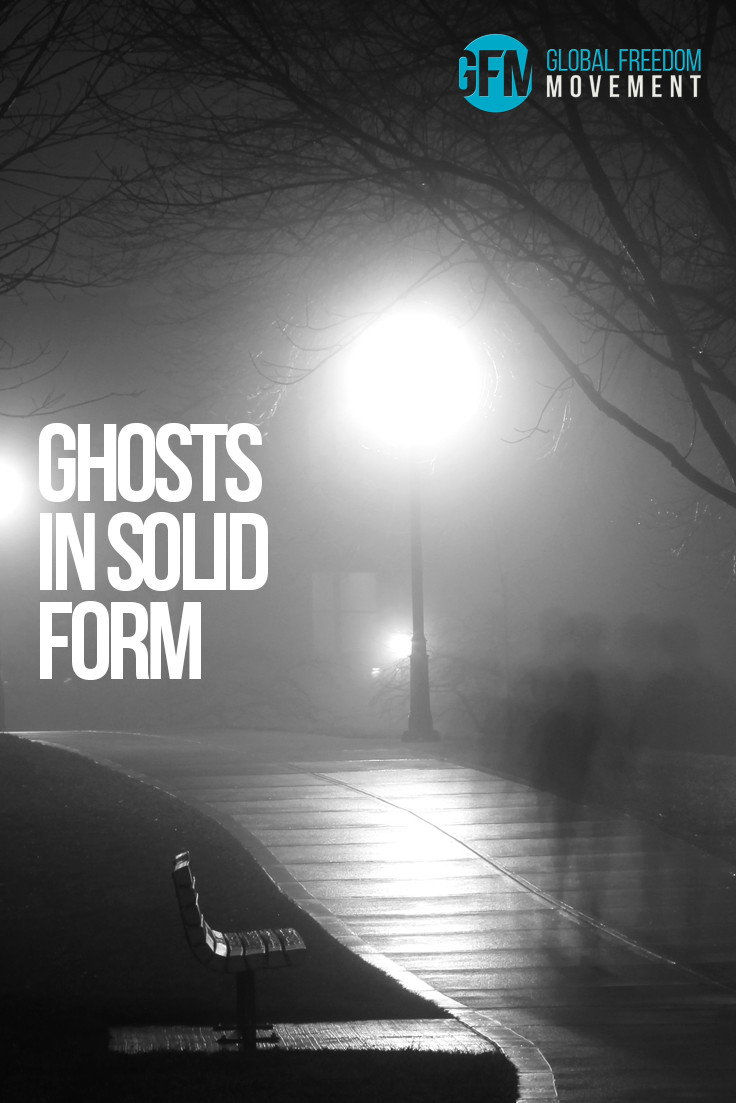 Ghosts in Solid Form Experimentally Demonstrated?