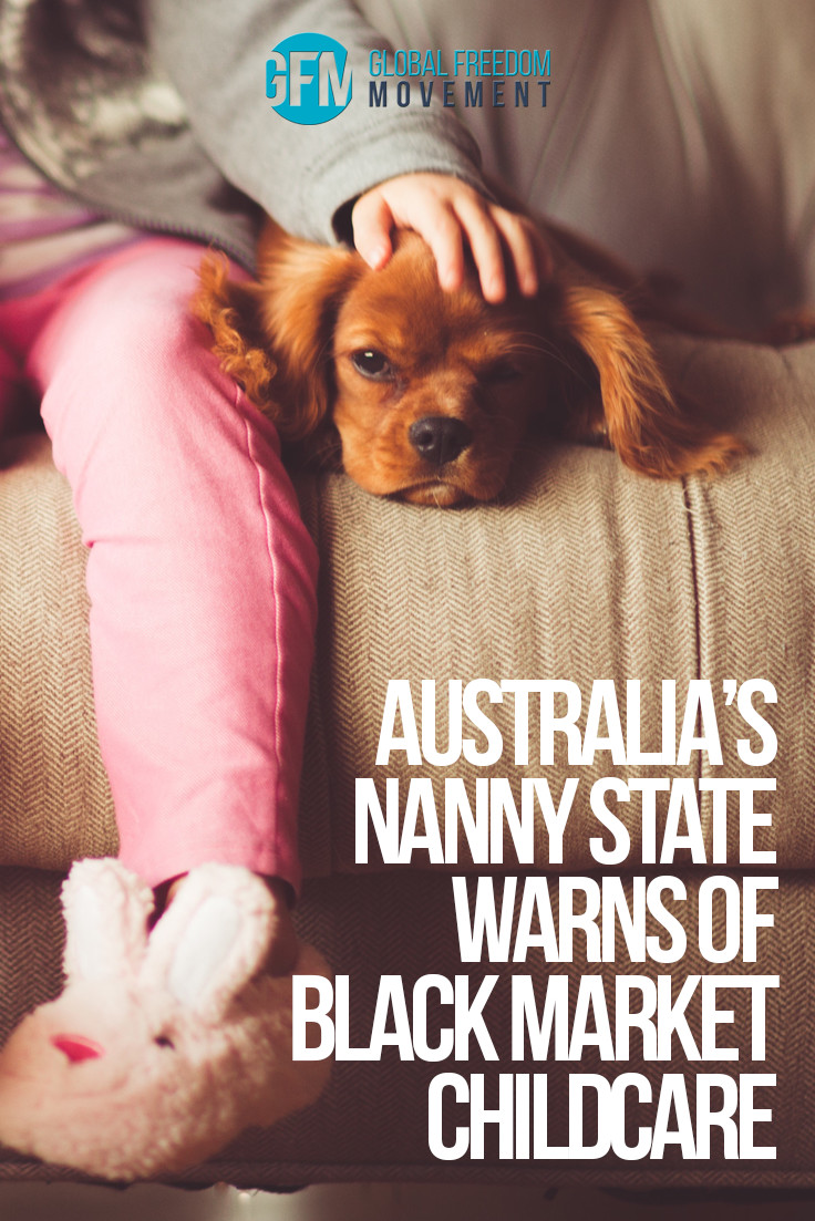 "Hysterical Nanny State Warns of Black Market Childcare Terror Cells and ""Sovereign Citizen"" Terrorists"