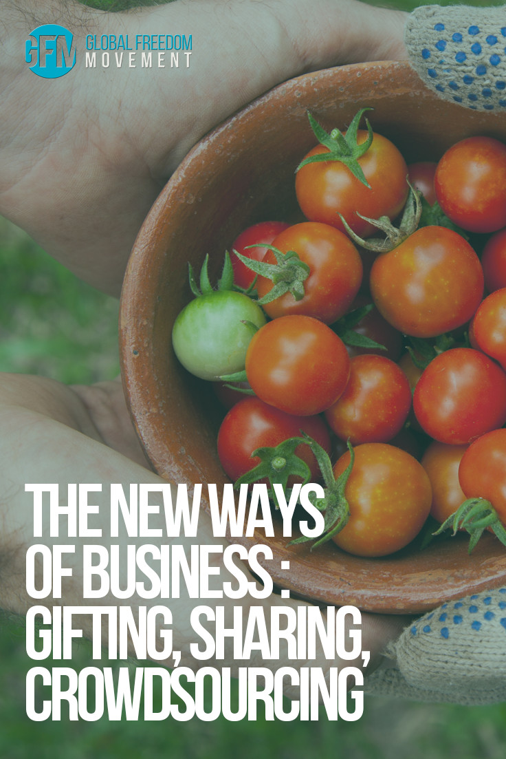 The New Ways of Business: Gifting, Sharing, and Crowdsourcing