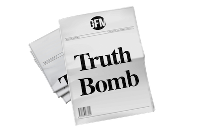 Global Freedom Movement Truth Bomb free newsletter