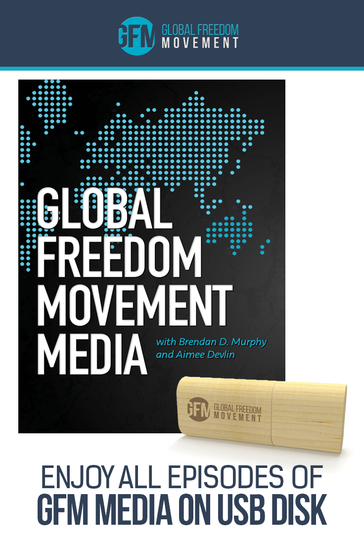 Hosted by Brendan D. Murphy and Aimee Devlin, the GFM Media USB Archive contains the best of Global Freedom Movement's interviews with a range of experts. Featuring around 120 hours of educational material in audio format, this handy USB collection is lightweight, highly portable, and super convenient. Listen to the wisdom and knowledge of Steven H. Buhner, Rick Strassman, Gerald Pollack, Kevin Galalae, Nick Good, Charles Eisenstein, Dr Stan Burzynski, Eileen McKusick, Dr Julie Mikovits, and many more.